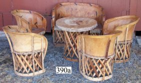 6 Pc Set, Mexican Patio Set - Will Not Ship