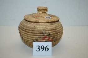 Eskimo Lidded Basket