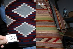2 Pcs. Navajo Weaving