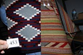 2 Pcs. Navajo Weaving