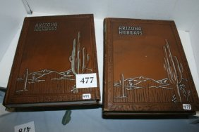 2 Vols. Arizona Highways Magazines