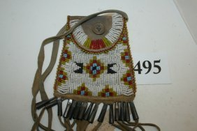 Beaded Plains Style Strike-a-lite