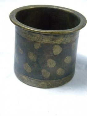 Antique Gold Gilted Bronze Incense Burner