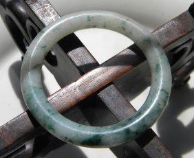 Antique Chinese Green Jadeite Bracelet