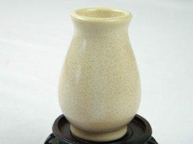 Antique Chinese Pink Glazed Vase
