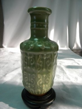 Antique Chinese Long Quan Vase