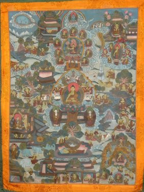 Antique Tibet Thangka