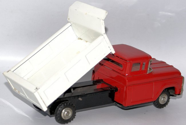 friction and big red truck Friction toys on this page you  marx big red hot rod plastic battery operated car circa 1960's  vintage fanny farmer candies tin metal friction truck made in japan.