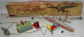 Rare Cragstan Flying Plane 'spirit Of Adventure'