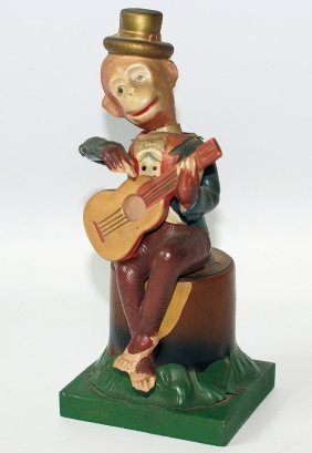 Rare 40's Musical Celluloid Sambo The Minstrel Man,