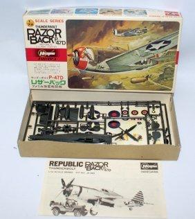 Hasegawa 1:72 Thunderbolt Razorback P-47d Us Army