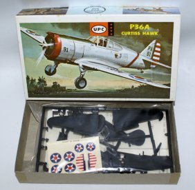 Upc 1:72 P36a Curtiss Hawk Plane Model Kit Flight