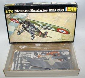 Heller 1:72 Morane Saulnier Ms 230 Fighter Plane Model