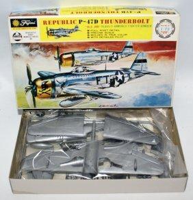 Fujimi Mokei 1:72 Republic P-47d Thunderbolt Wwii Plane