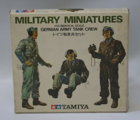 Tamiya 1:35 Military Miniatures German Army Tank Crew