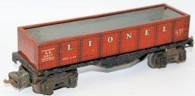 Prewar O Gauge Tin Lionel Ives #2677 Gondola Train Car