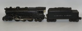 Lionel Train O Gauge 2-6-4 2035 Steam Locomotive &