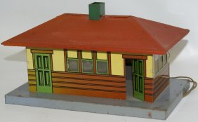 Prewar American Flyer? S Gauge Lighted Train Station