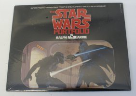 Rare 1977 Star Wars Ralph Mcquarrie Paintings
