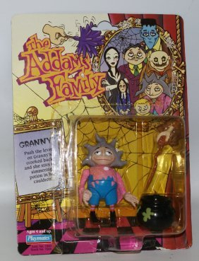 1992 The Addams Family #7006 Granny Frump Action