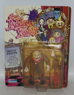 1992 The Addams Family #7005 Uncle Fester Action