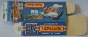Matchbox Lesney Superfast #55 Hellraiser Orig. Empty