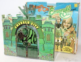1974 Mego Wizard Of Oz Emerald City Playset With All 8