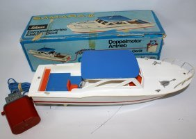 B.o. Tethered 3377 Schuco Samara Ii Elektro-boot Boat