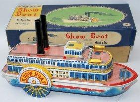 50's Tin Bo Steam Show Boat 3200 Paddle Wheel Boat,