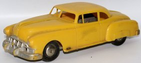 50's Friction Hard Plastic Pontiac Super 8 Coupe Toy
