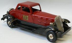 Clockwork Hoge Fire Chief Car Deluxe Coupe Car, Siren &