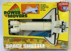 Rare 1983 Kenner Space Shuttle Ship 'searcher7' #72560