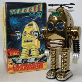 Limited Edition Gold Plated Thunder Robot Ultimate