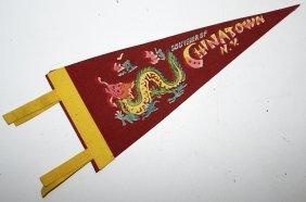 "11-1/2"" Felt Souvenir Pennant Flag Souvenier Of"