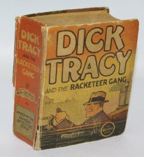 1936 Dick Tracy And The Racketeer Gang #1112 Big Little