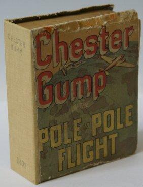 1937 Chester Gump Pole To Pole Flight #1402 Big Little