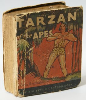 1933 Tarzan Of The Apes #744 Big Little Book, Rice