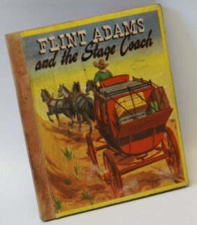 1949 Flint Adams And The Stage Coach #582 Swap-it Mini