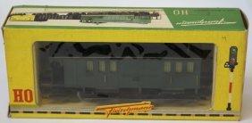 Fleischmann Ho #1403 Postal Car In Box