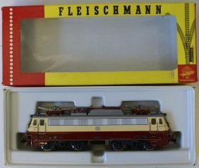 Fleischmann Ho Electric Engine #1347t Db 112 310-8