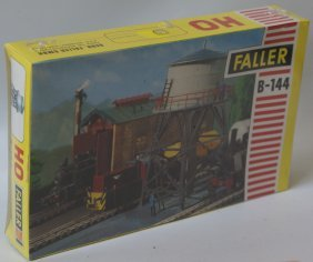 Ho Faller B-144 Water Tower Tank Kit, Western Germany