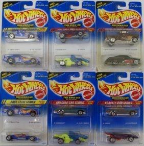 1990s Hot Wheels Mixed Lot Of 12 1:64 Diecast Cars Nip
