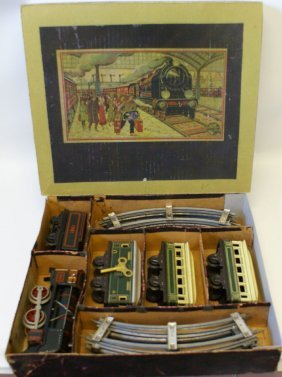 50's Distler German O Gauge Train Set