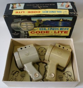 Hasbro Twin Navy Blinker Code 2 Lite Set, Morse Code,