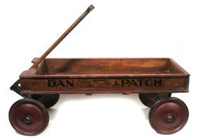 DAN PATCH RACING HORSE CHILD'S WAGON