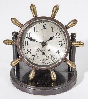 Chelsea Ships Desk Clock