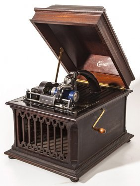 Edison Amberola Table Top Cylinder Phonograph
