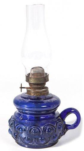 Cobalt Finger Lamp