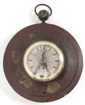 French Hanging Wall Clock