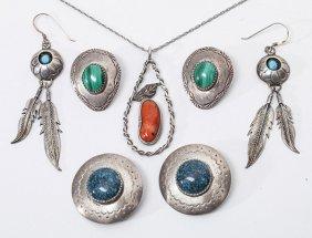 Lot Of Navajo Silver Jewelry